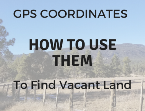 How to Find Vacant Land Using GPS Coordinates
